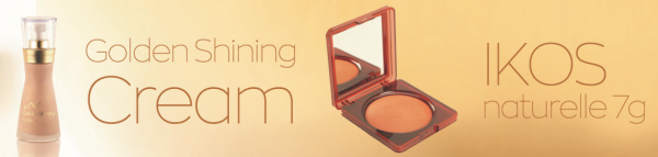 Golden Shining Cream + IKOS naturelle 7g Sonderpreis