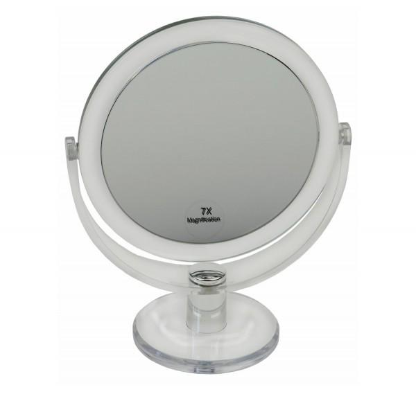 Kosmetik-Standspiegel, 7-fach Vergrößerung