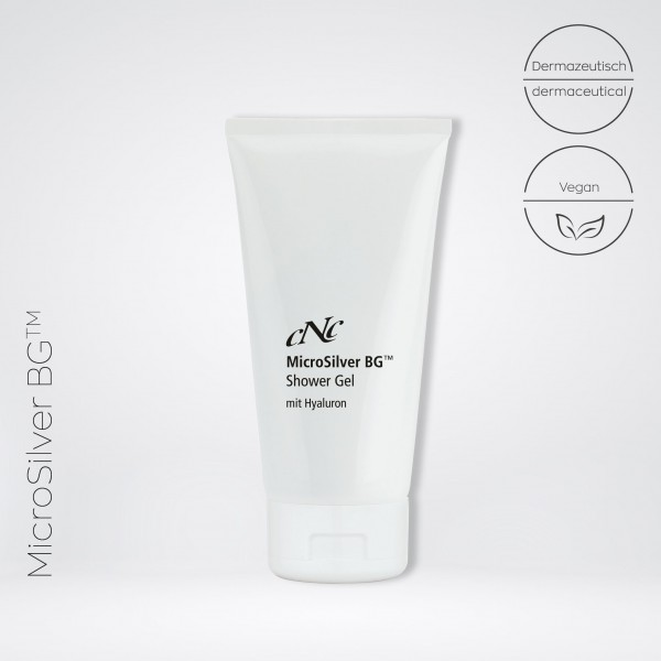 MicroSilver BG™ Shower Gel mit Hyaluron, 200 ml