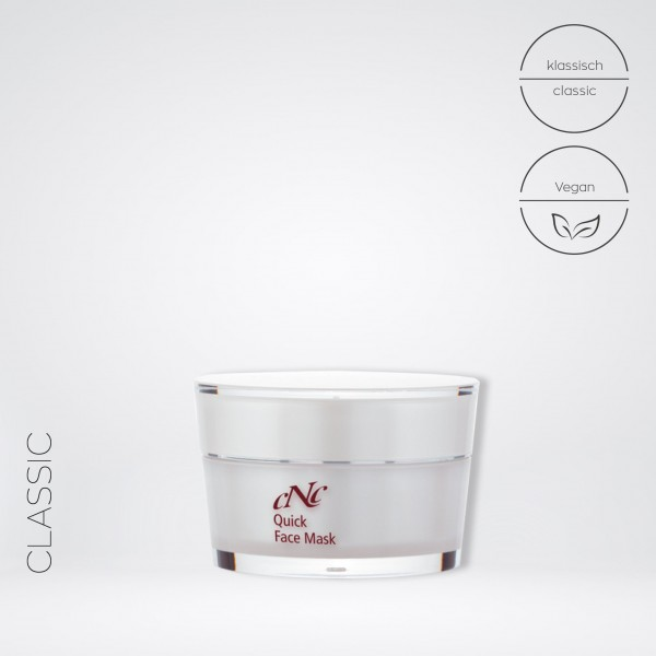 classic Quick Face Mask, 50 ml